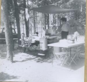 Vacation camping