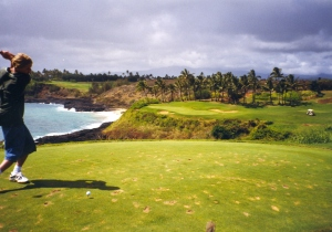 I missed getting to play in Hawaii because of my sciatica