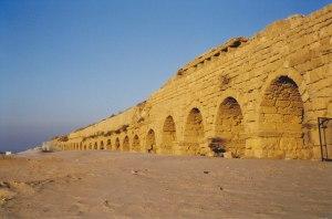Aquaduct of Caesarea (Israel)